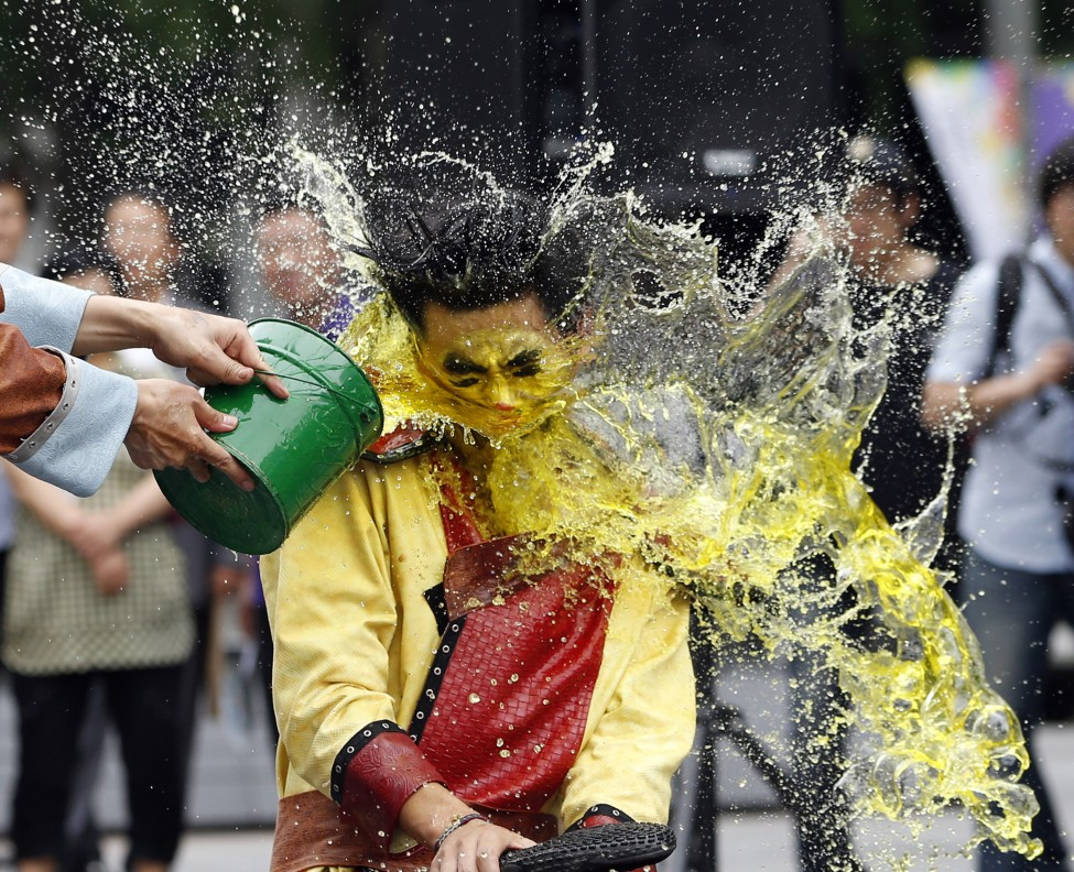 South Korea Water Festival