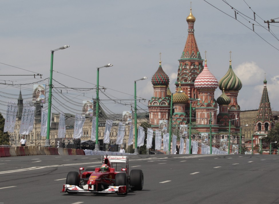 Russia Moscow City Racing