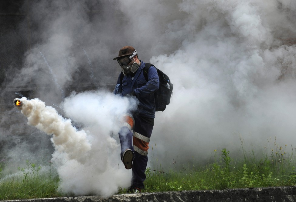 Spain Miners Strike
