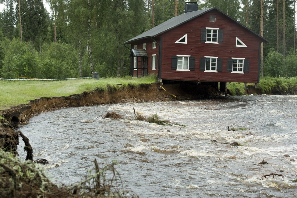 Sweden Floods