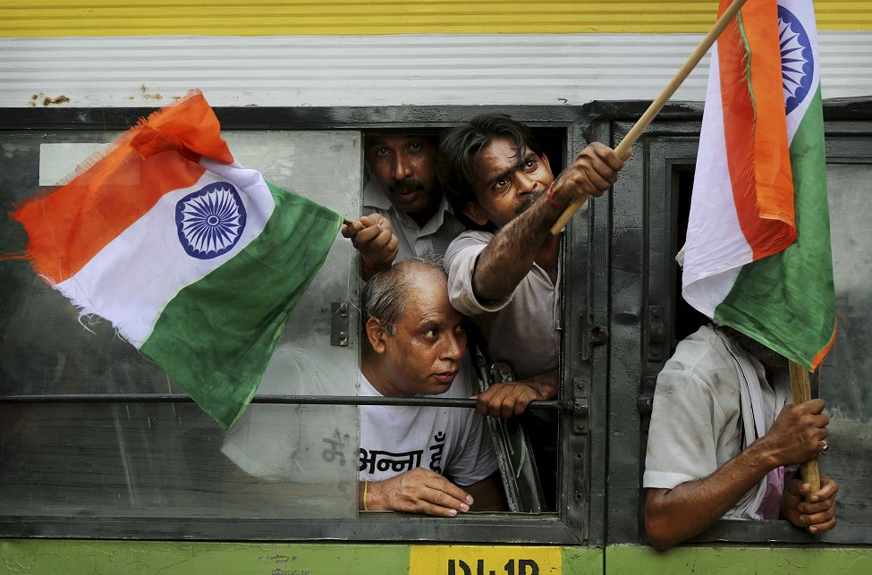 India Anti-Corruption Protest