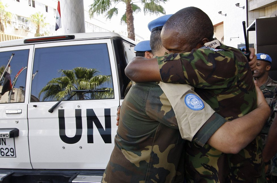 Syria U.N. Peacekeepers