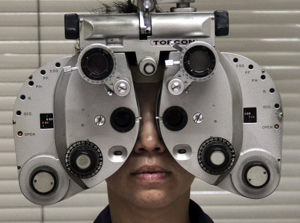 Thailand Eye Exam
