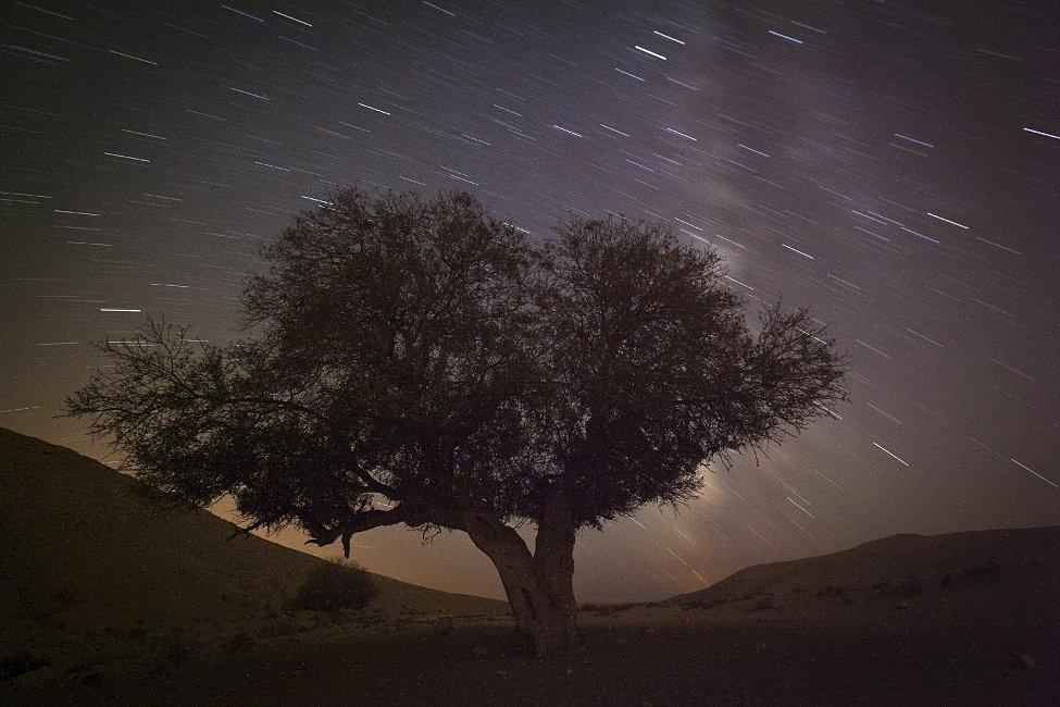 Israel Meteor Shower
