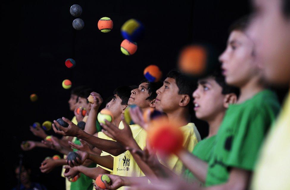Kabul Afghanistan Juggling