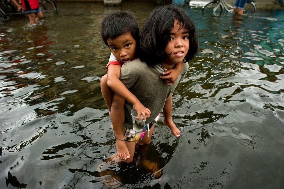 Manila Floods Valenzuela