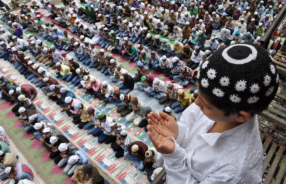 India Eid Prayers