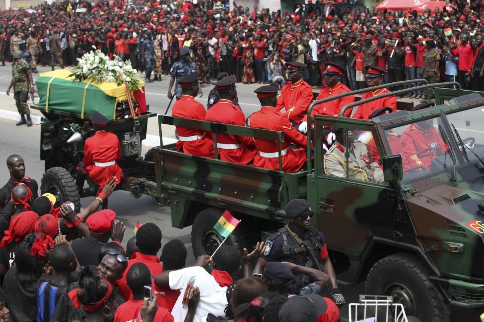 Ghana President Funeral