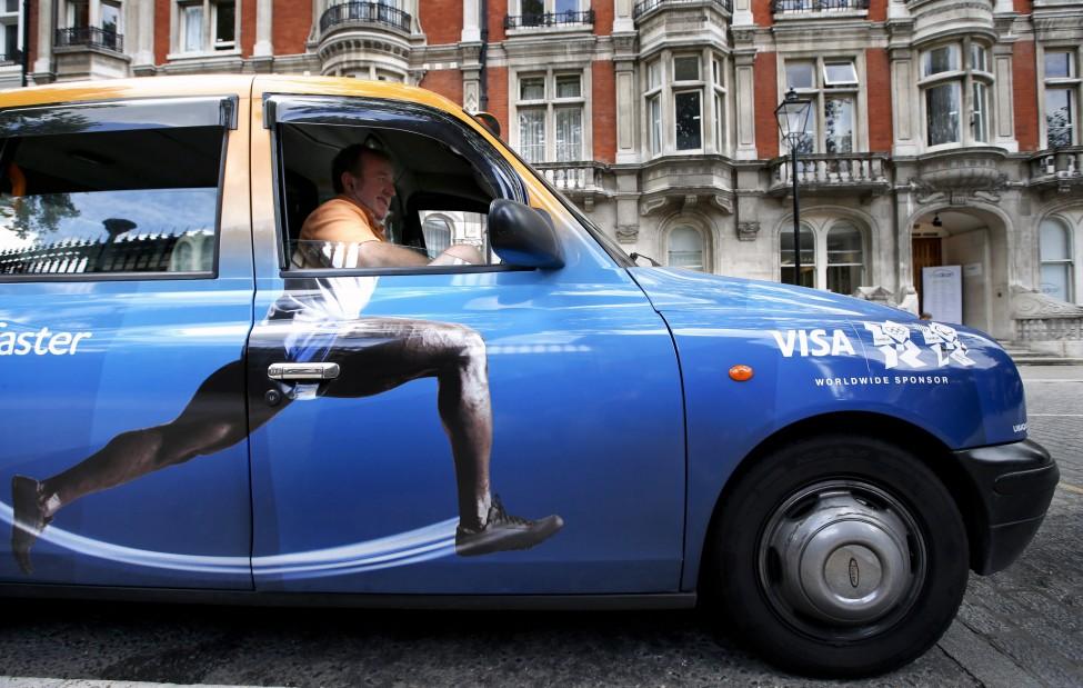 London Olympics Taxi
