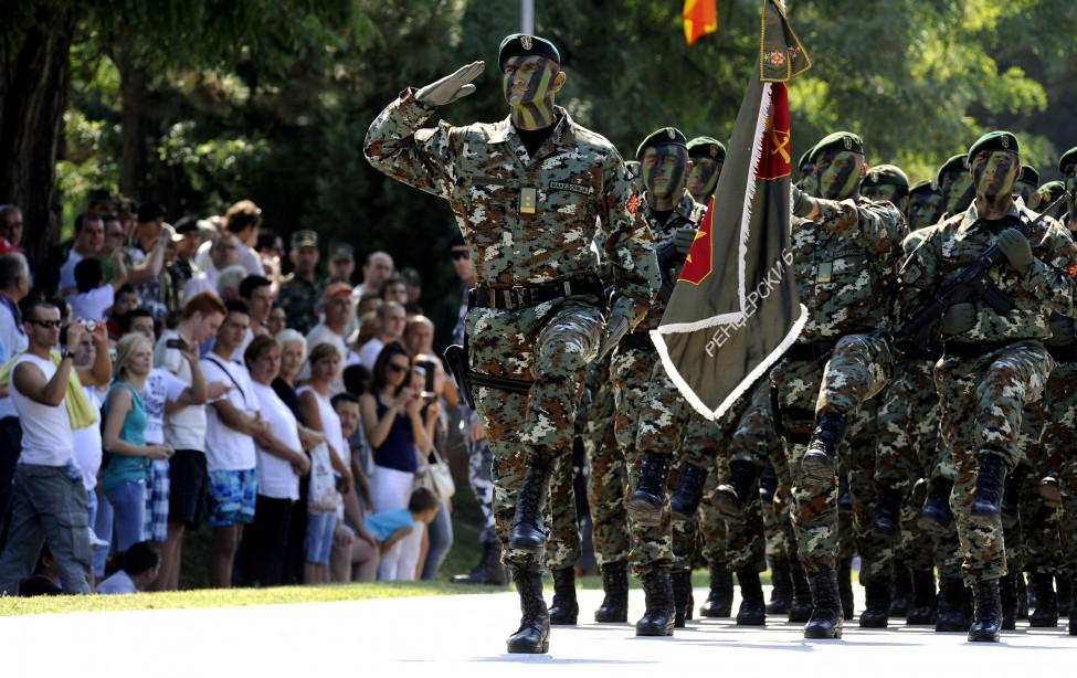 Macedonia Army Day