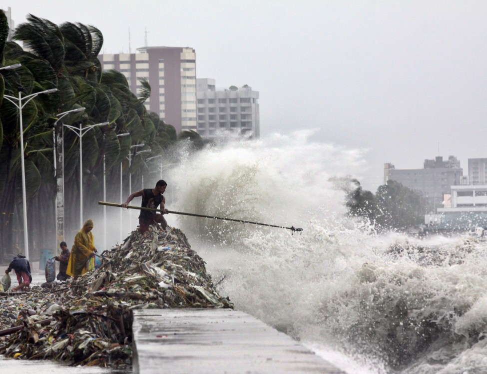 Philippines Asia Storm