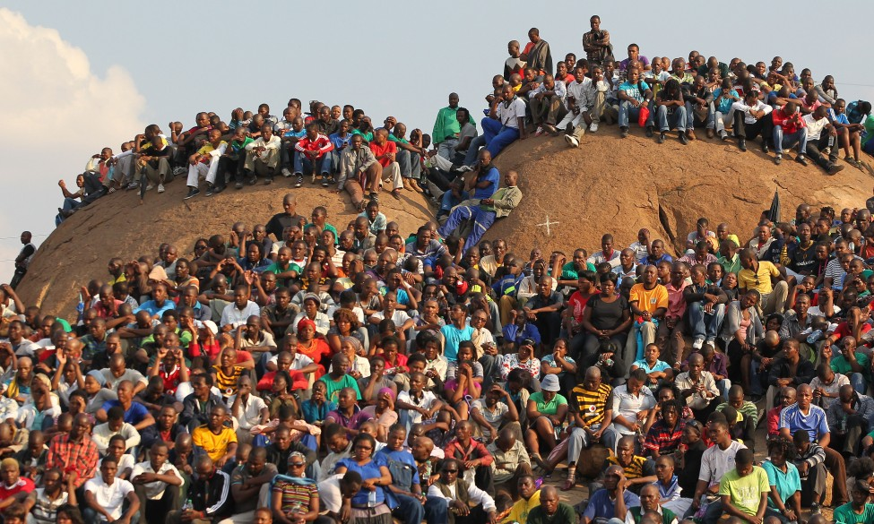 South Africa Mine Violence