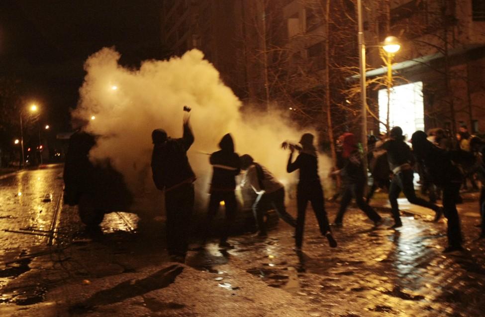 Chile Students Demo