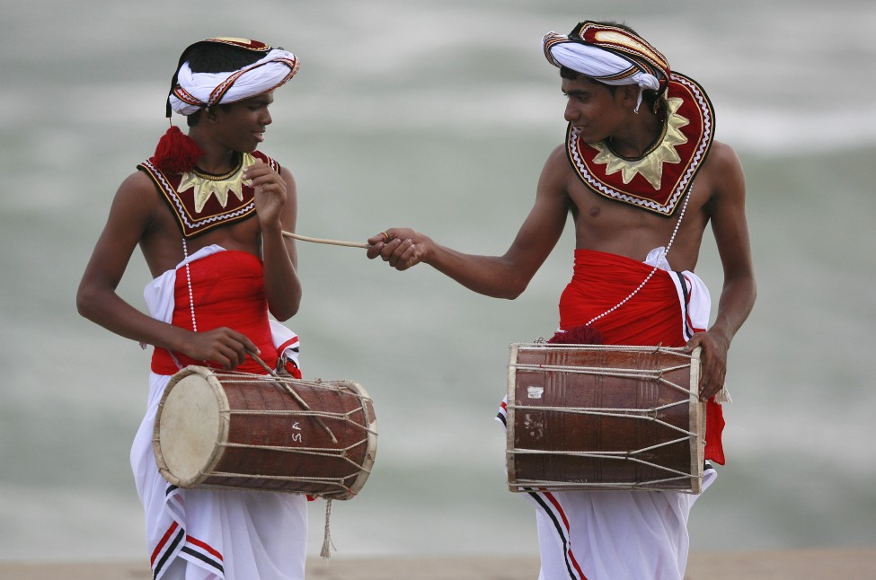 Sri Lanka Traditional Dancers