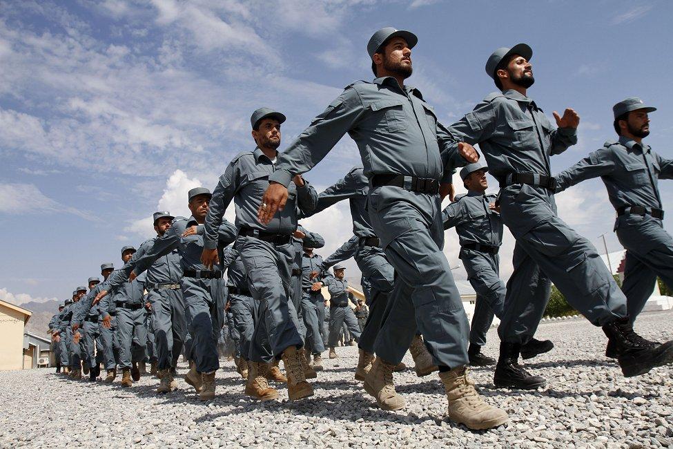 Afghan Police Graduation