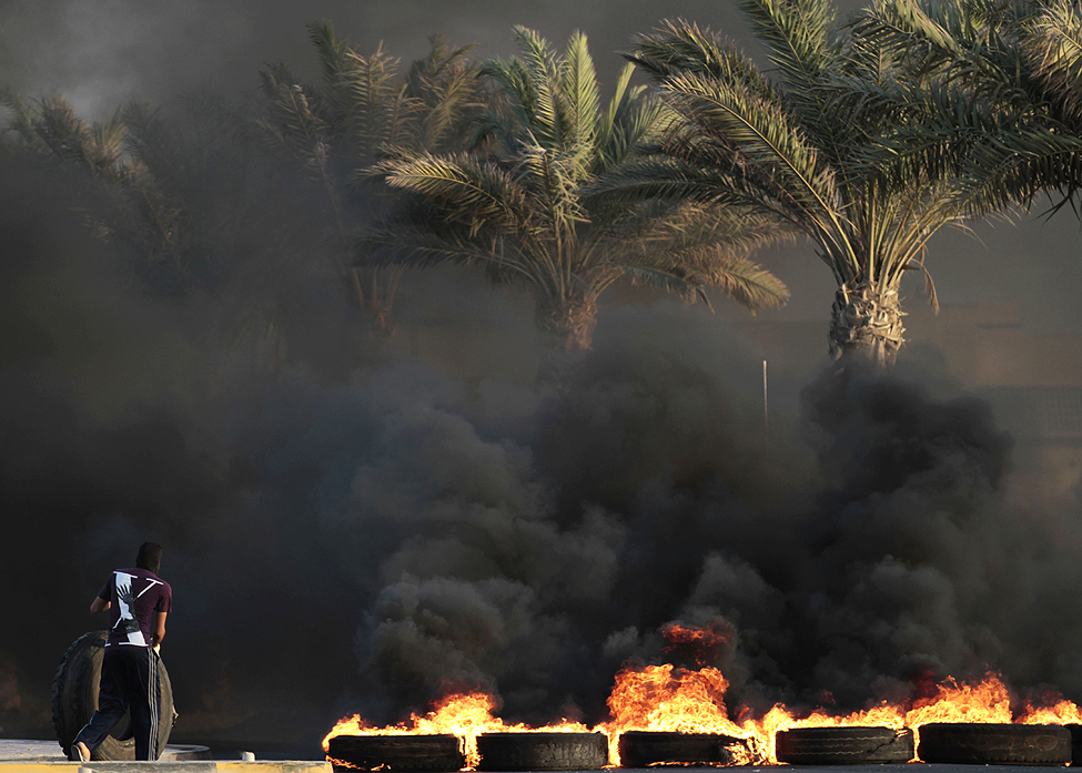 Bahrain Sitra Protests