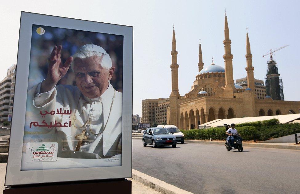 Pope Benedict Beirut