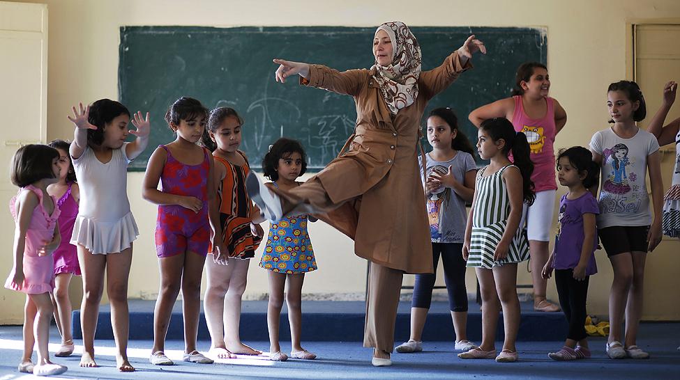 Gaza Palestinians Ballet