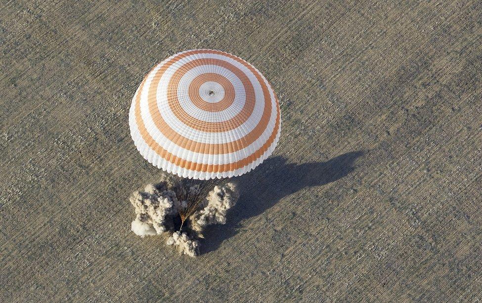 Kazakhstan Soyuz Lands