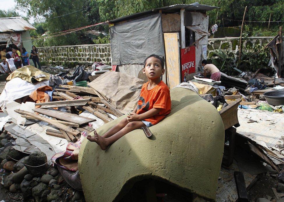 Manila Tornado Damage
