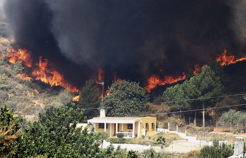 Spain Fires