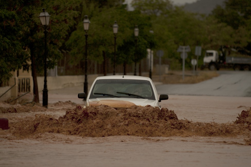 Spain Weather Floods