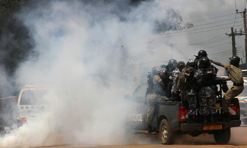 Uganda Opposition Demonstration