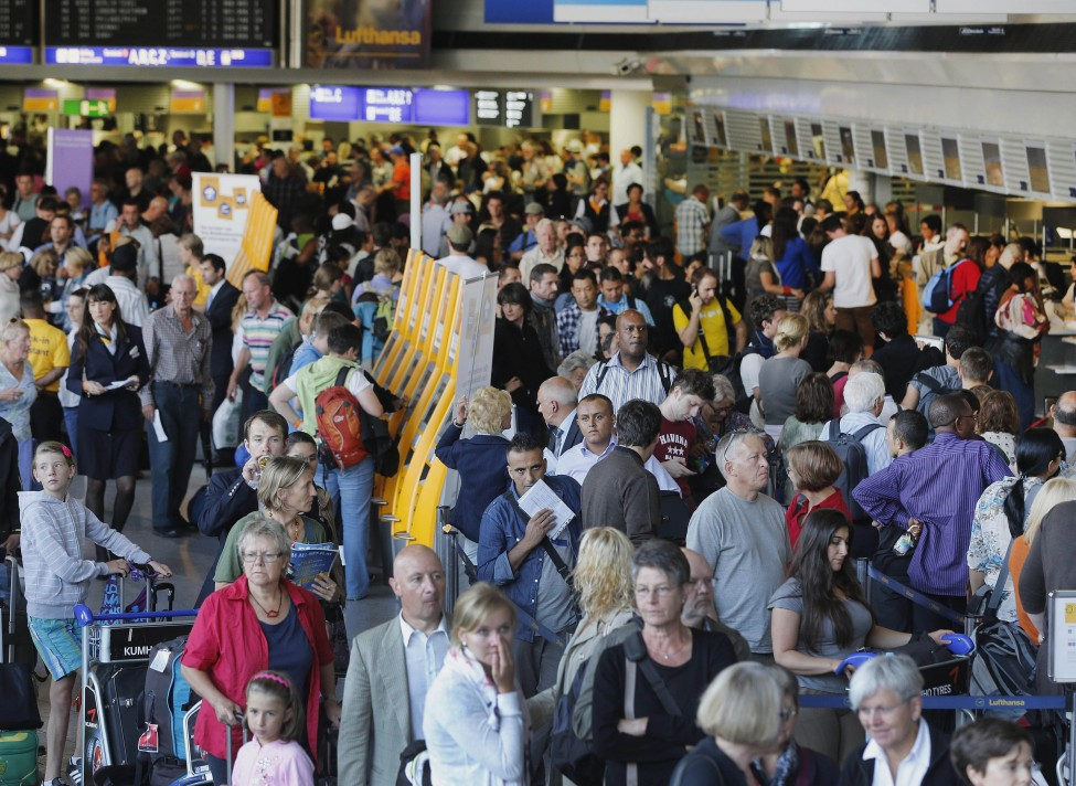 Germany Lufthansa Strike