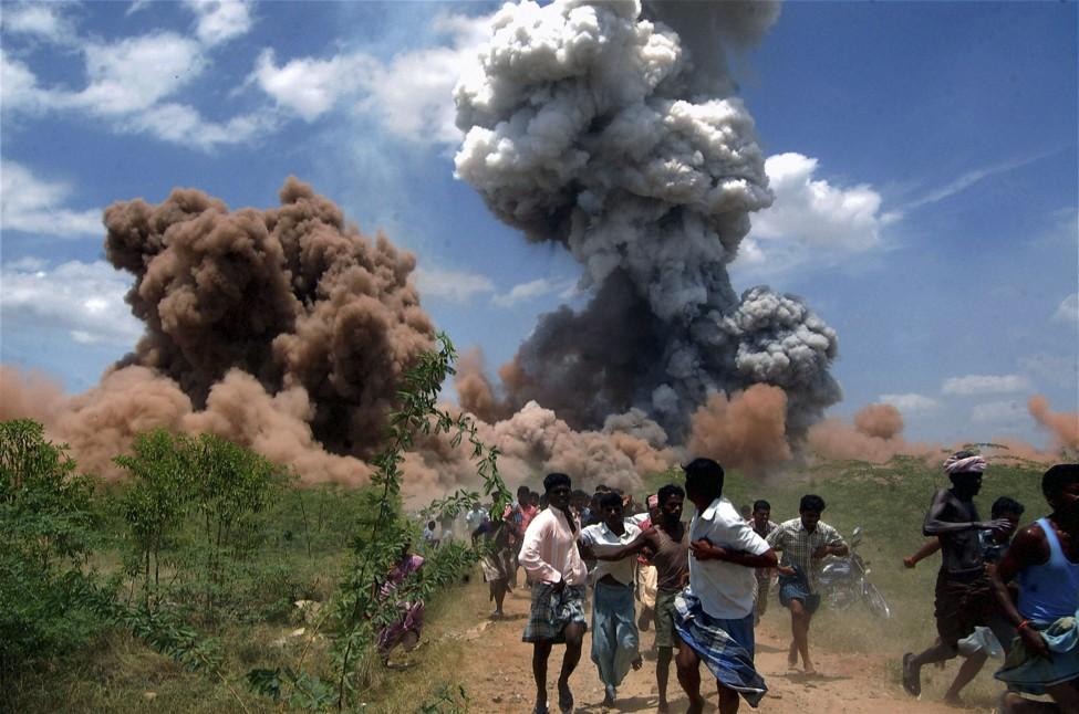 India Fireworks Blaze