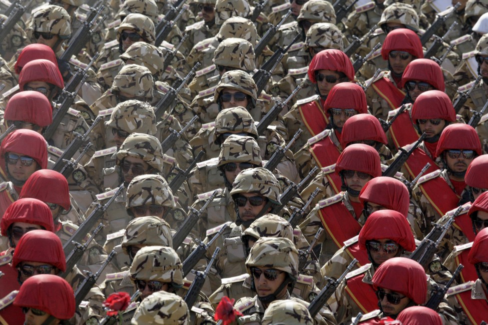 Mideast Iran Military Parade