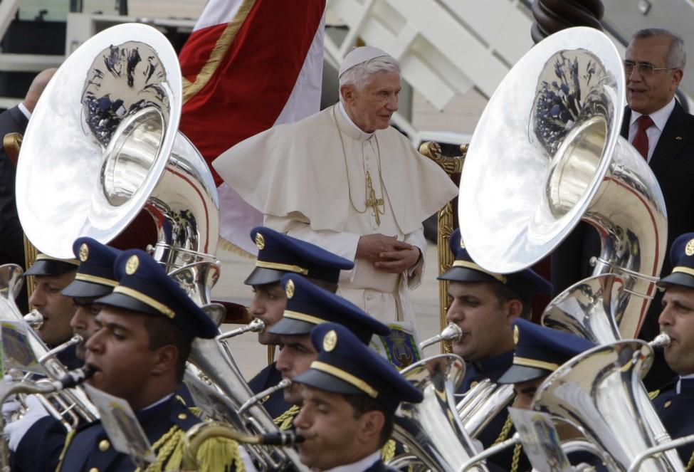 Lebanon Pope Benedict XVI