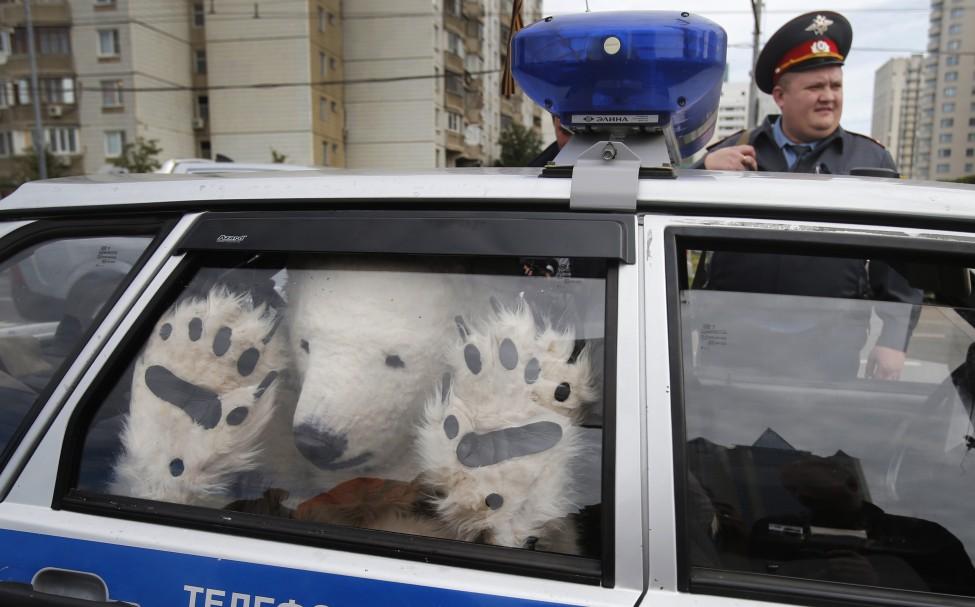 Russia Arctic Greenpeace