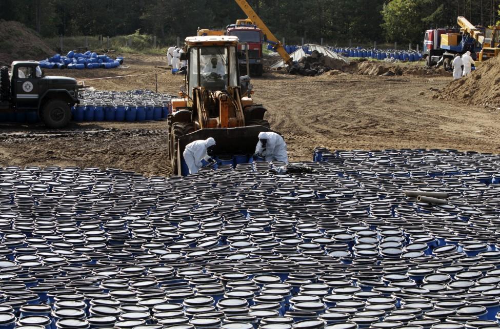 Belarus Pesticide Burial