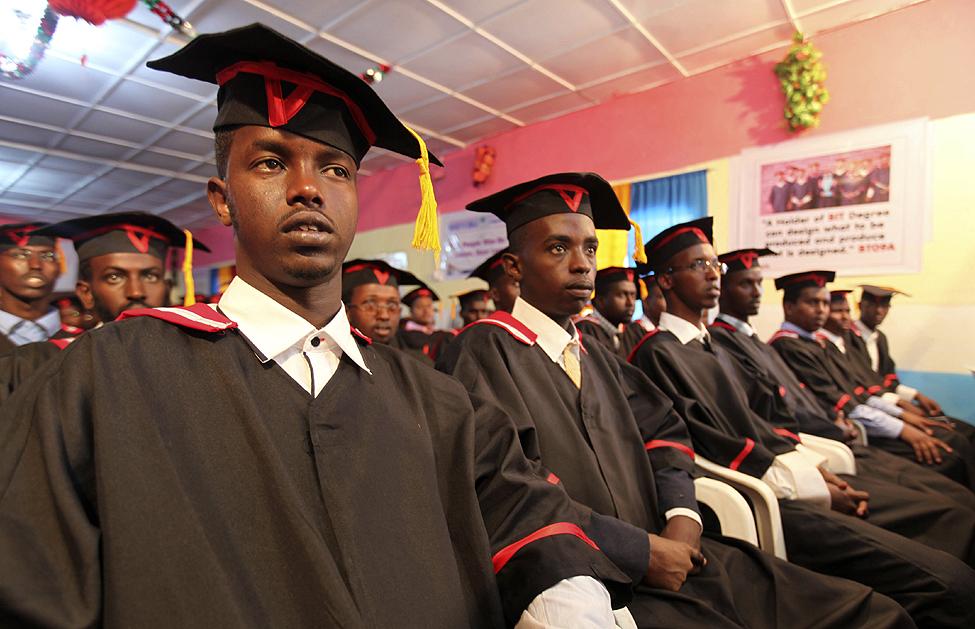 Somalia University Graduation
