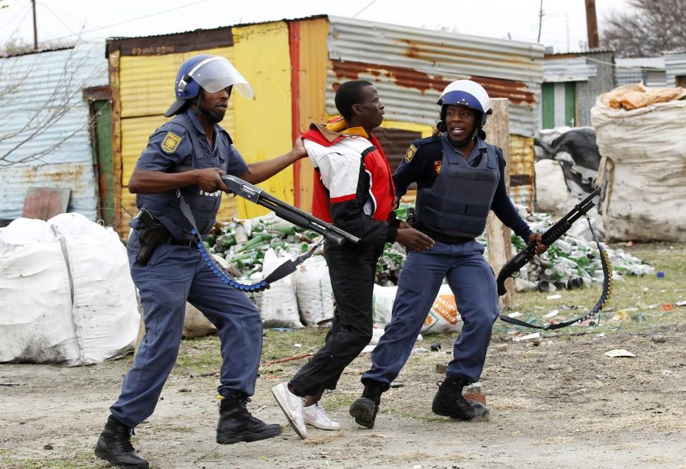 South Africa Mine Arrest