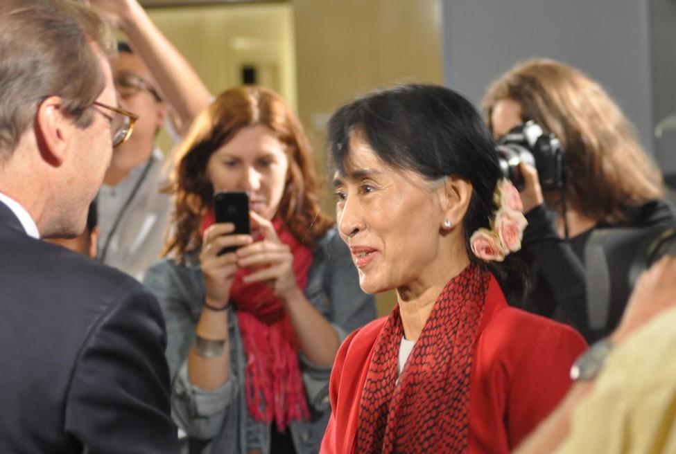 Burma US Aung San Suu Kyi