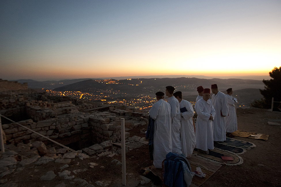 Palestinians Samaritans Sukkot