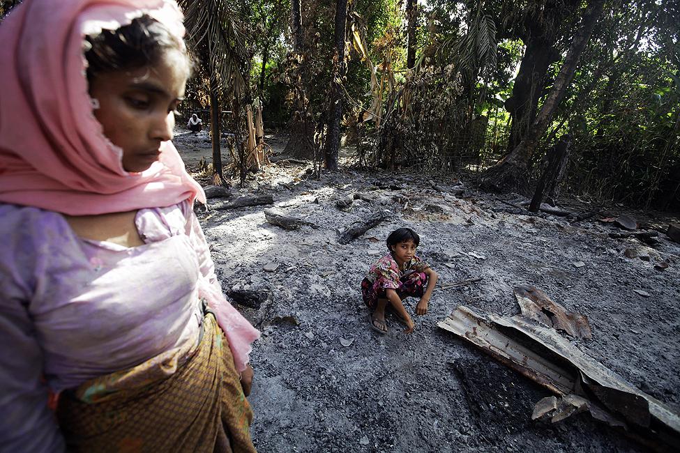 Burma Violence Rakhine