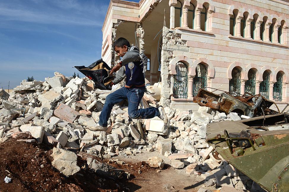 Azaz Syria Conflict
