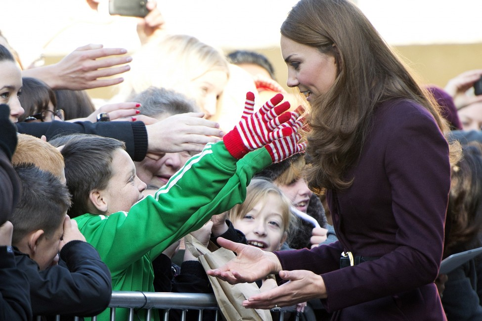 The Duchess of Cambridge Newcastle