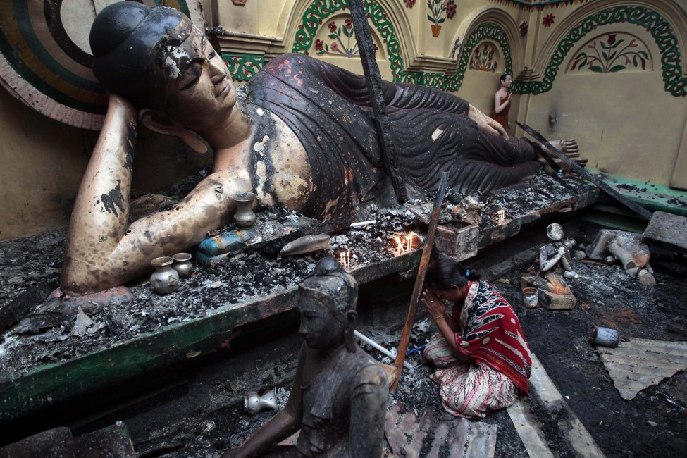 Bangladesh Temples Torched