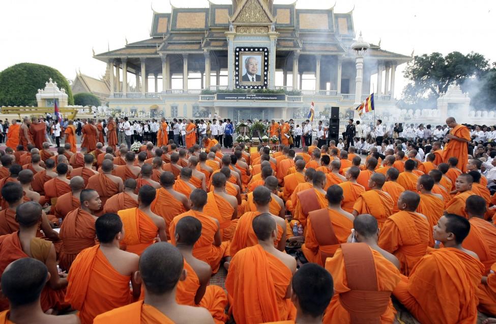 Cambodia Sihanouk