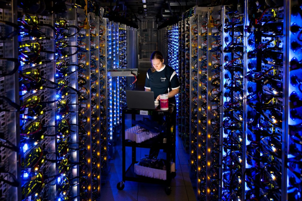 Google Data Center Tours