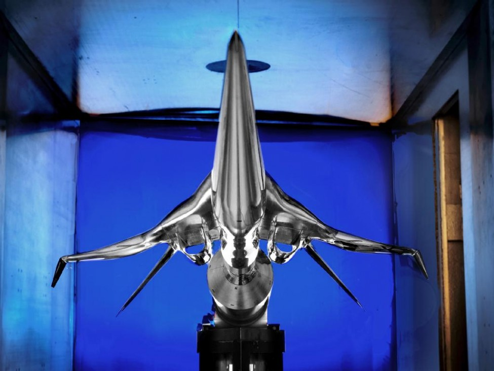 NASA Supersonic Model