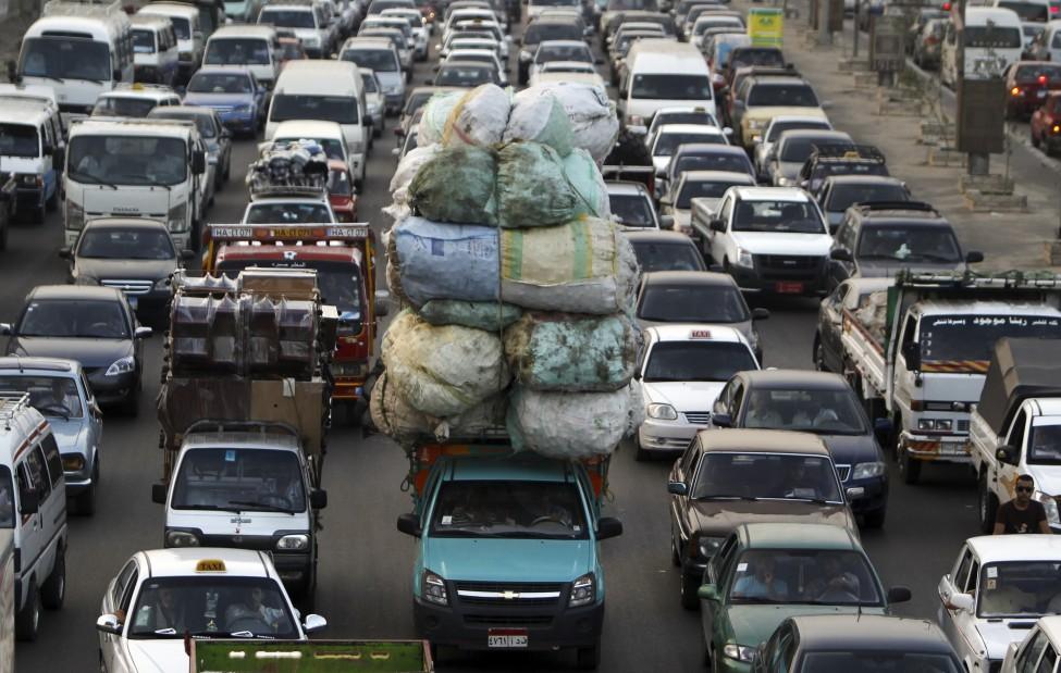 Egypt Traffic Jam