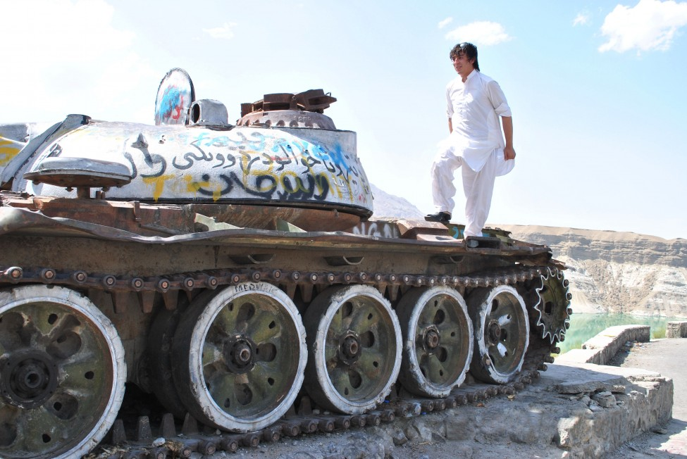 Afghanistan Russian Tank
