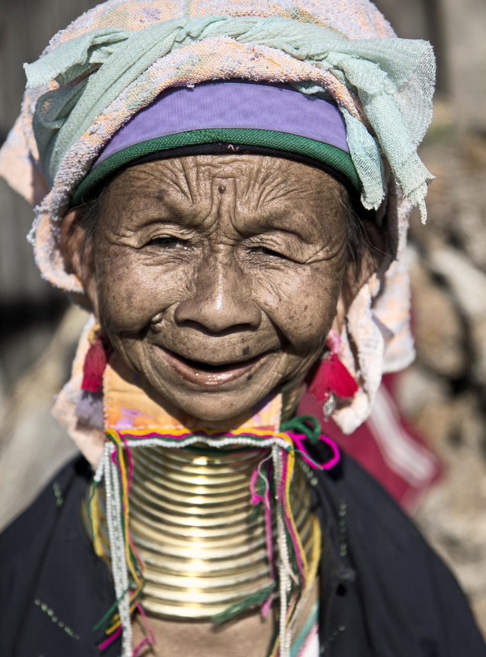 Burma Padaung Tribe