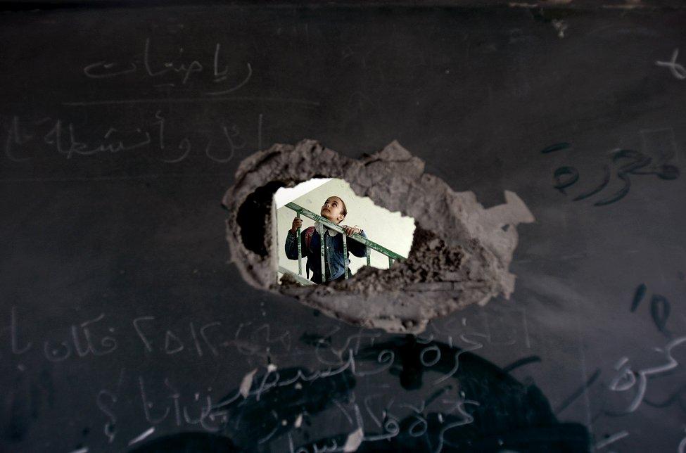 Israel Gaza School