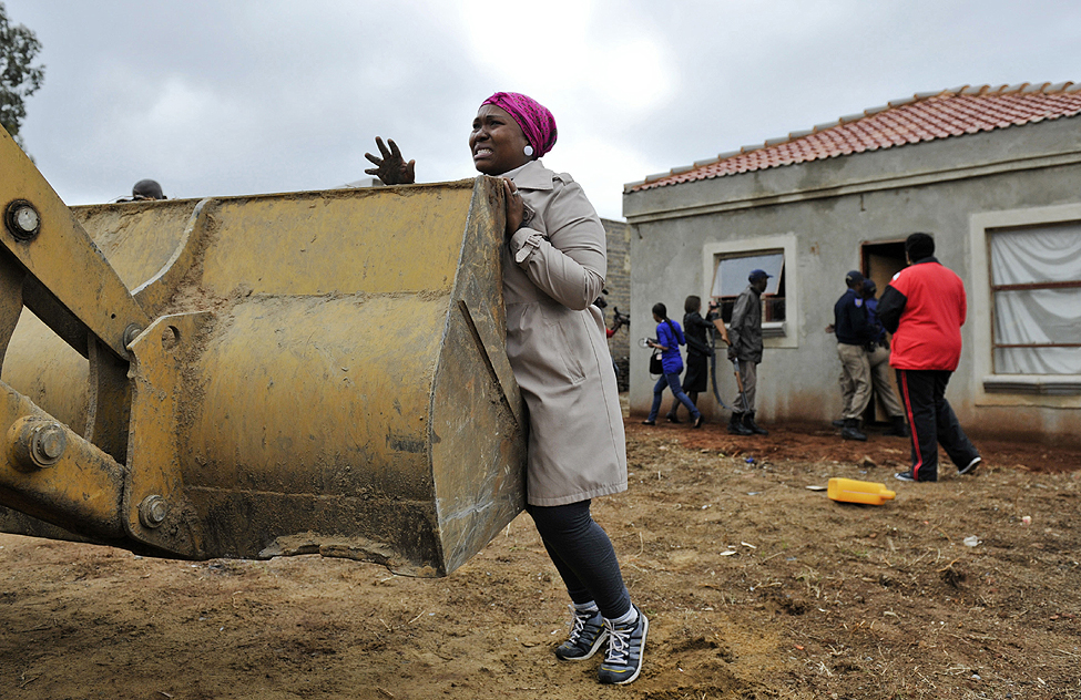 South Africa Homes Destroyed
