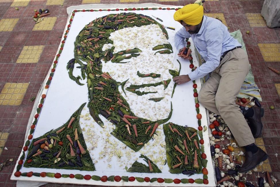 Obama vegetables